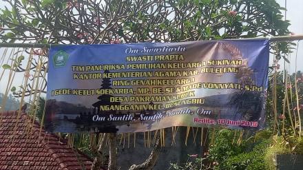 Penilaian Keluarga Sukinah Tingkat kabupaten Buleleng