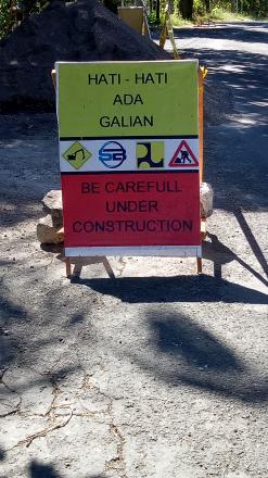 Jalan raya Pupuan - Seririt, 5,5 KM diperbaiki