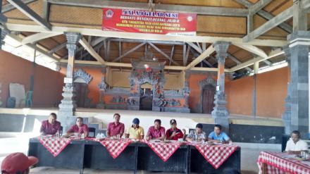 Musyawarah Desa menjadi Embrio Pelaksanaan Kegiatan TA 2019