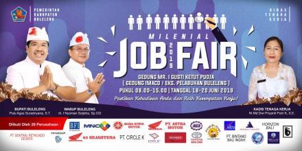 Millenial Job Fair tahun 2019