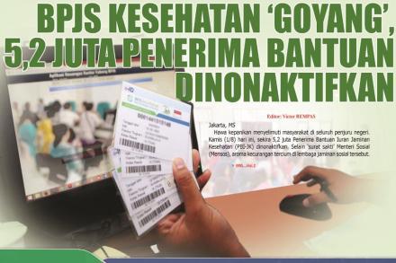 NIK Tak Jelas, 5,2 Juta Peserta BPJS Kesehatan PBI Dinonaktifkan Mulai 1 Agustus 2019